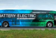 Electric bus world record journey Proterra