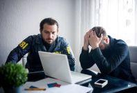 Website extortion arrest