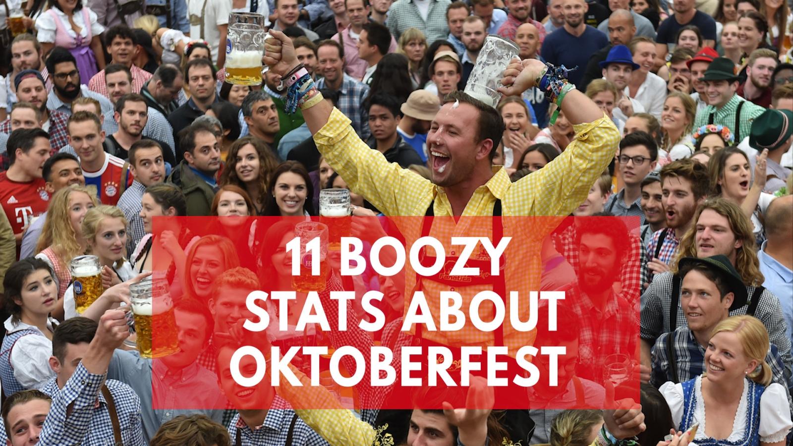 11 boozy stats about Oktoberfest
