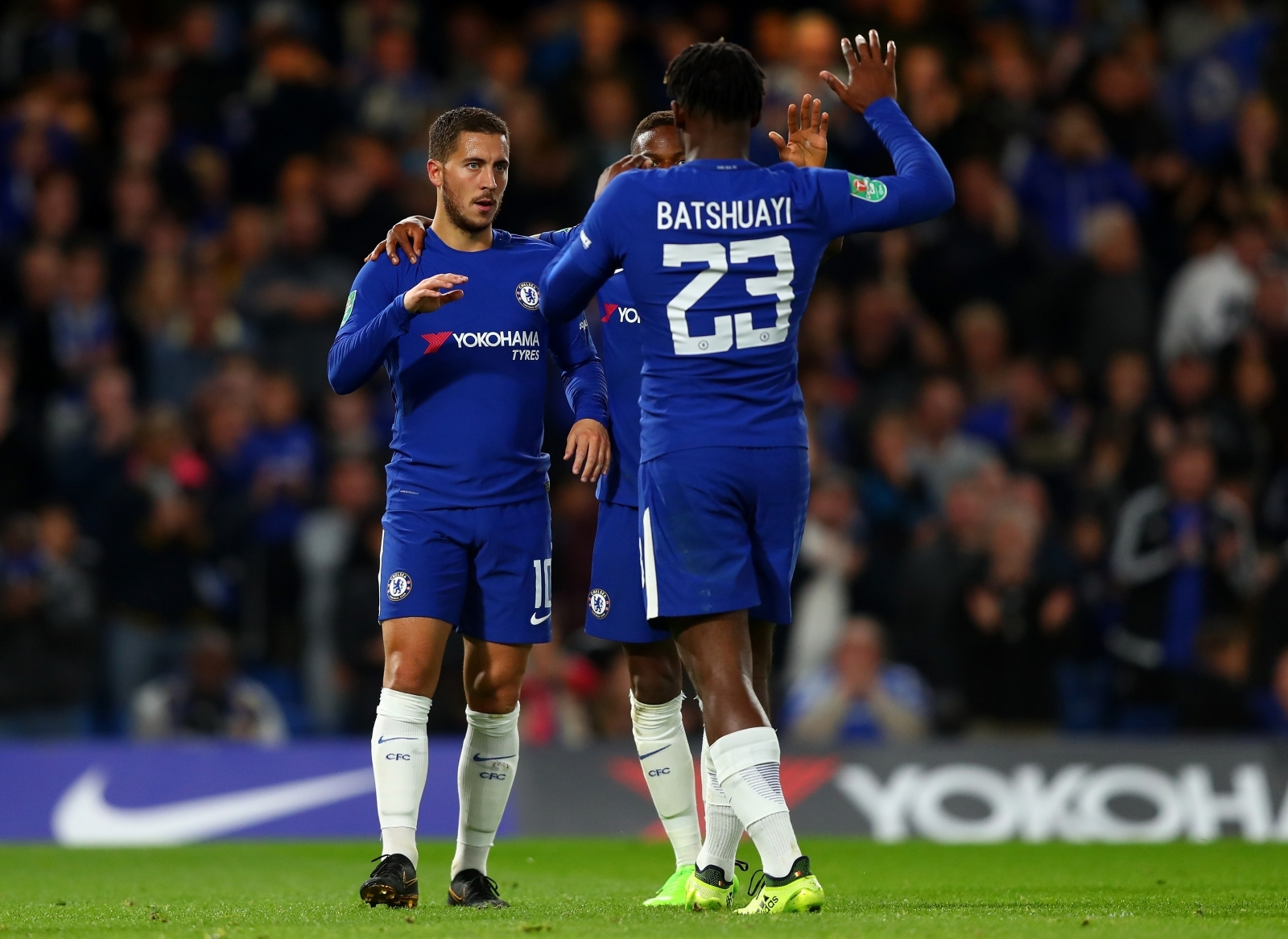 Eden Hazard and Michy Batshuayi