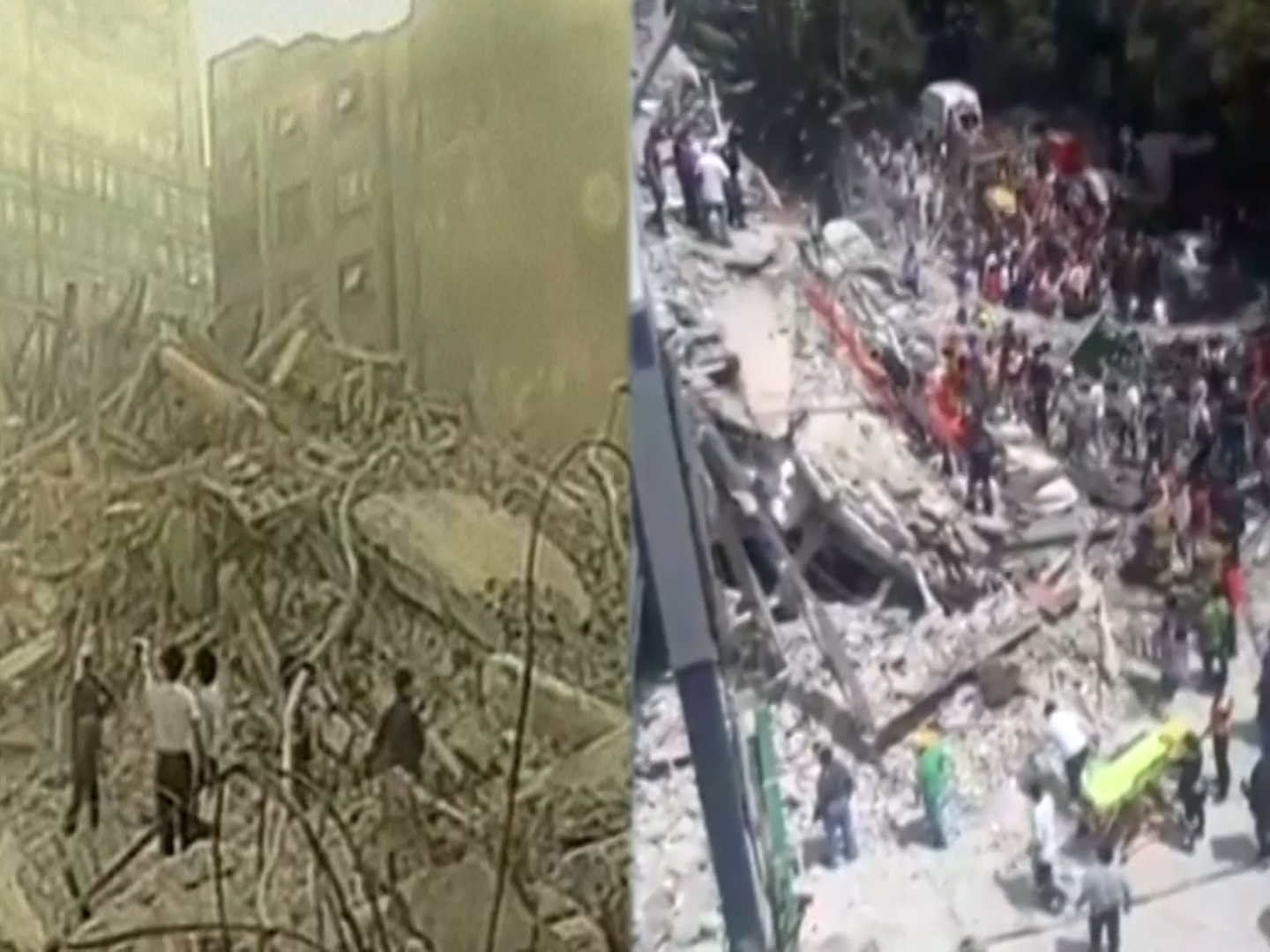 Comparing two major earthquakes in Mexico, 32 years later