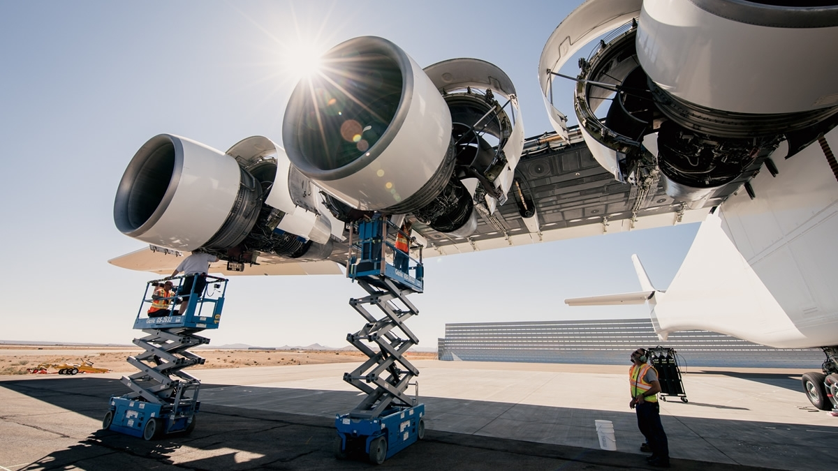 Stratolaunch turbofan engines