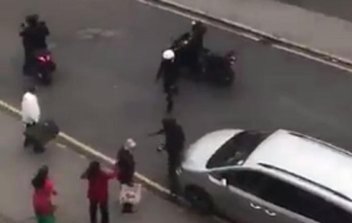 Thornton Heath moped attack