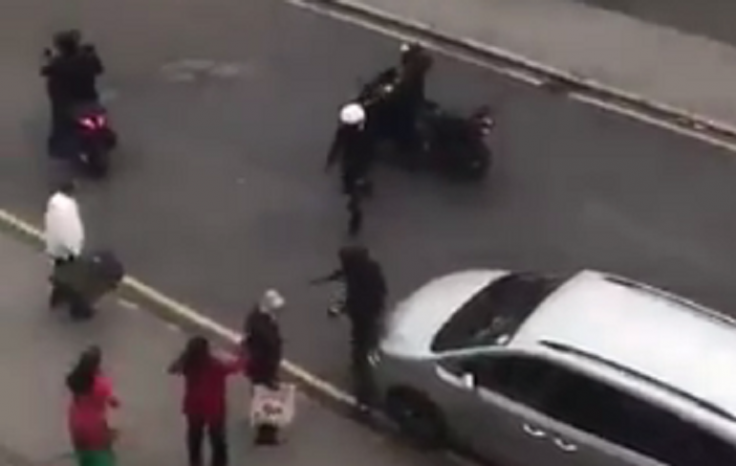Thornton Heath moped attack