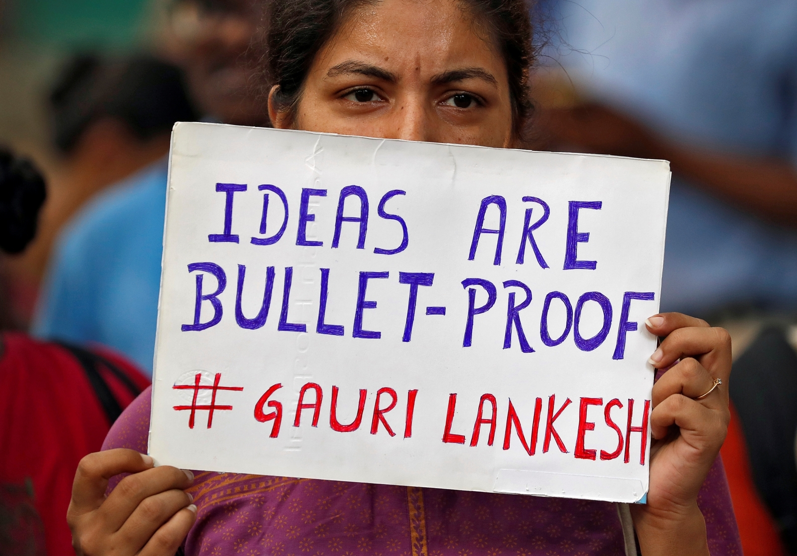 India journalist murder