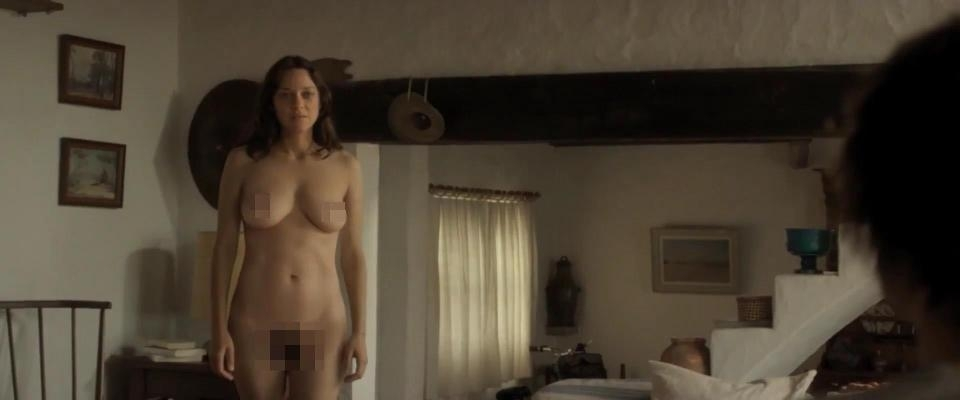 Marion Cotillard Strips Totally Naked For Eerie Scene In -8891