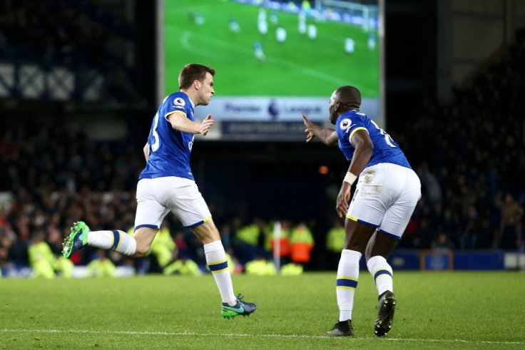 Seamus Coleman and Yannick Bolasie