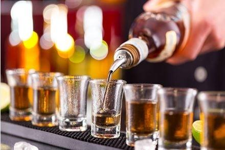 Fake alcohol device