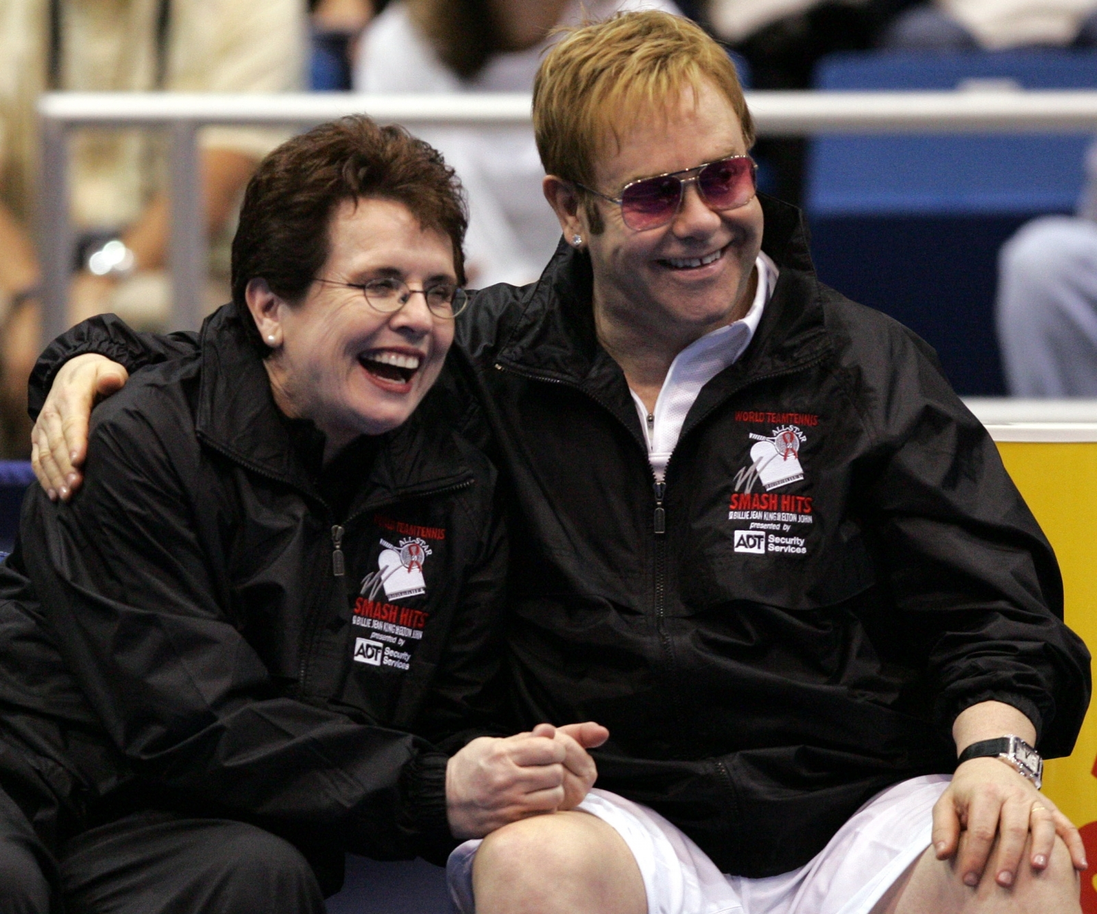 Billy Jean King, Elton John