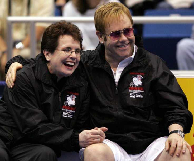 Billy Jean King, Elton John