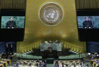 India Pakistan clash at UN