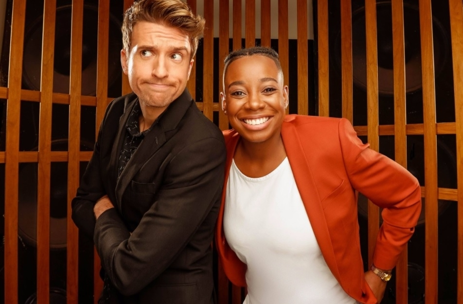 Greg James and A.Dot
