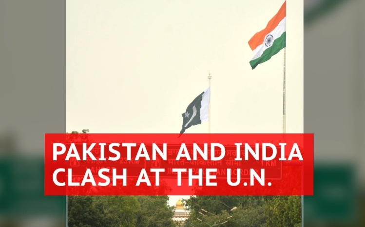 Pakistan rakes up Kashmir issue at UN, accuses India of 'war crimes'