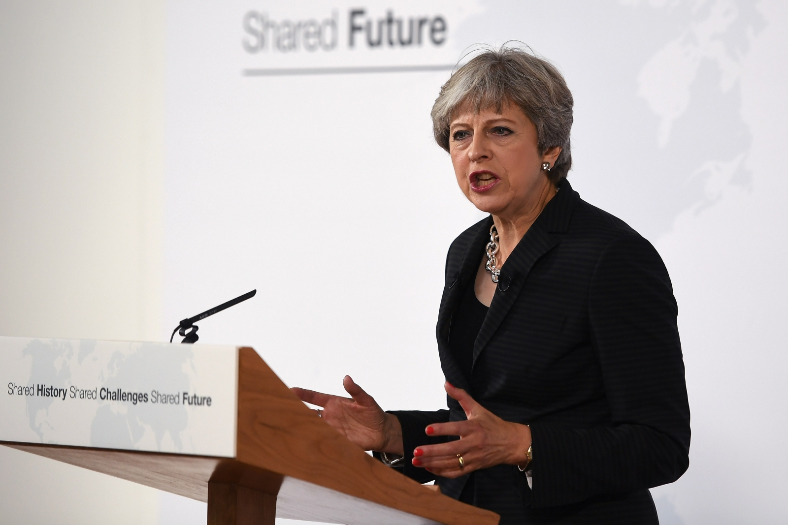 Theresa May claims that Britain has never felt 'at home' in the EU during Florence speech