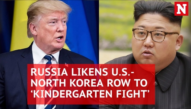 Russia urges 'hotheads' Donald Trump and Kim Jong-un to calm down