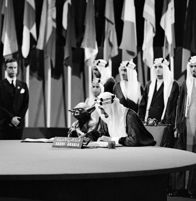Yoda and King Faisal