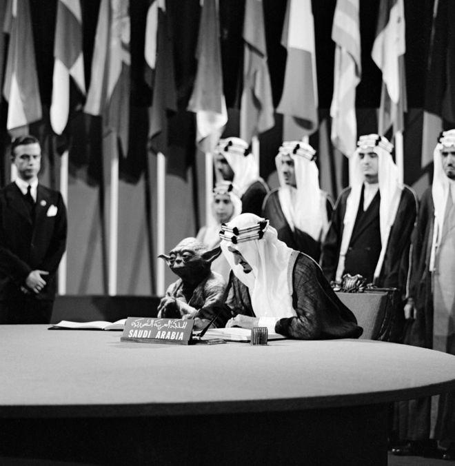 Yoda and King Faisal