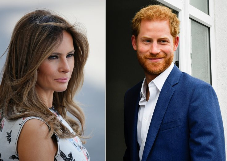 Melania Trump Prince Harry