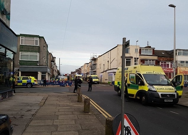 Blackpool gas explosion