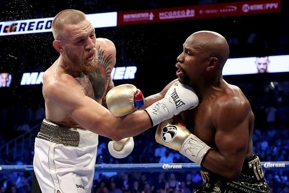 McGregor and Mayweather