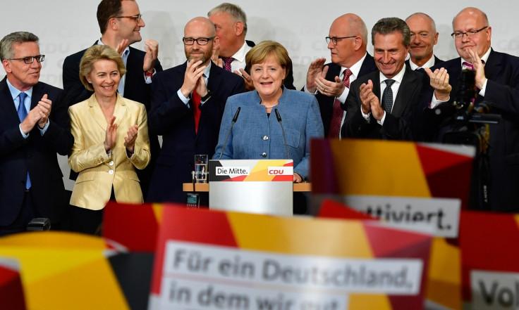 Angela Merkel CDU Election 2017