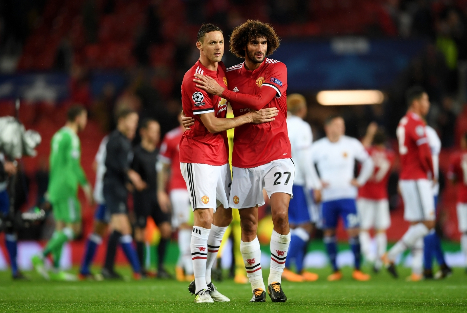 Manchester United's Marouane Fellaini out of CSKA Moscow clash