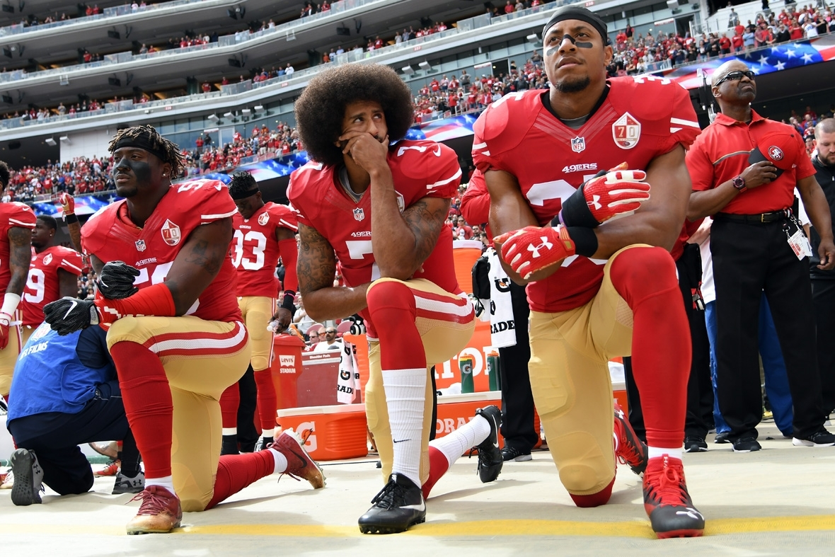 UK footballers are 'conditioned' not to speak out like Collin Kaepernick