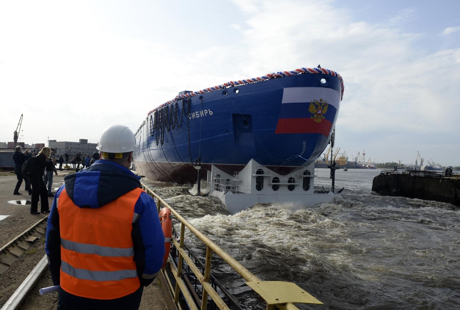 RUSSIA-ARCTIC-SHIPBUILDING