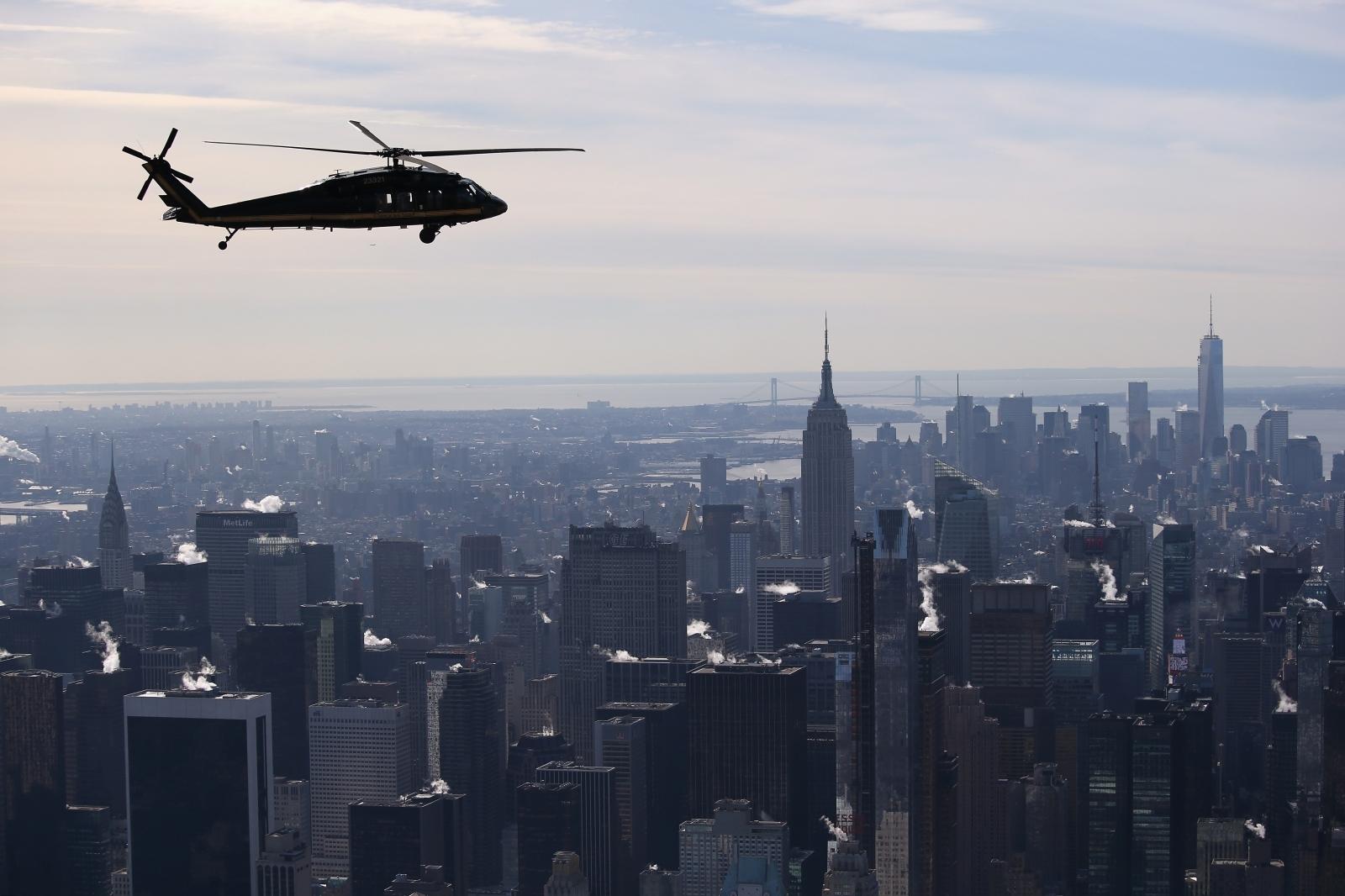Black hawk helicopter drone crash