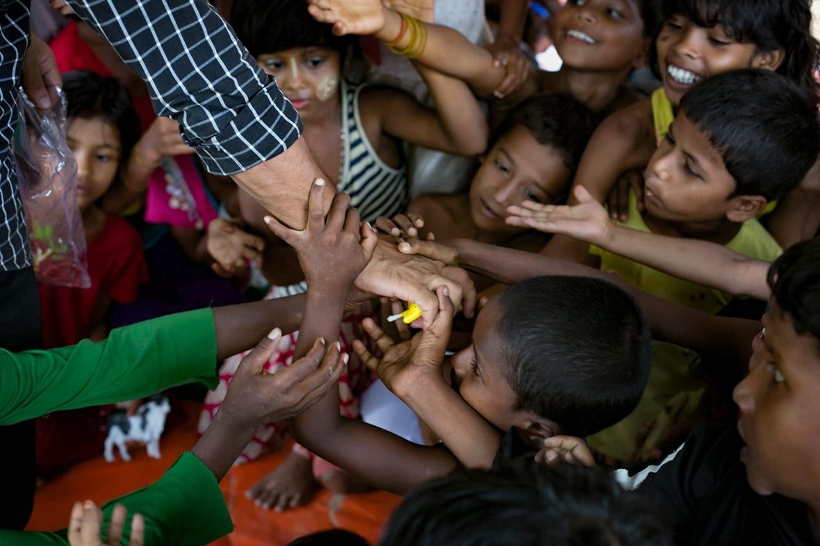Rohingya childrens drawings