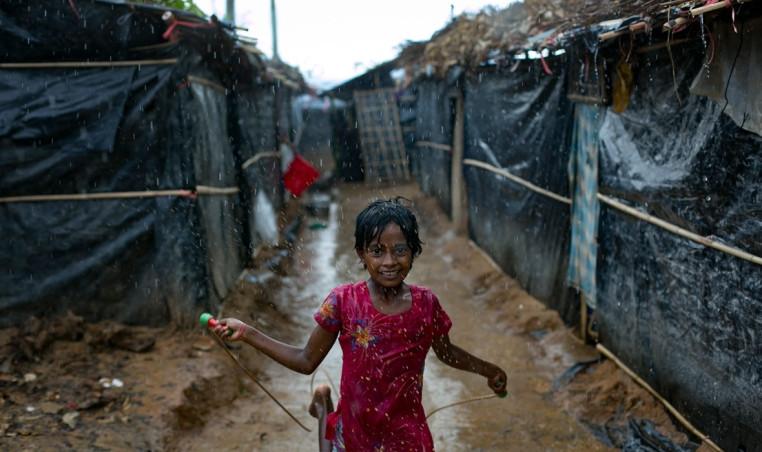 Rohingya children's drawings