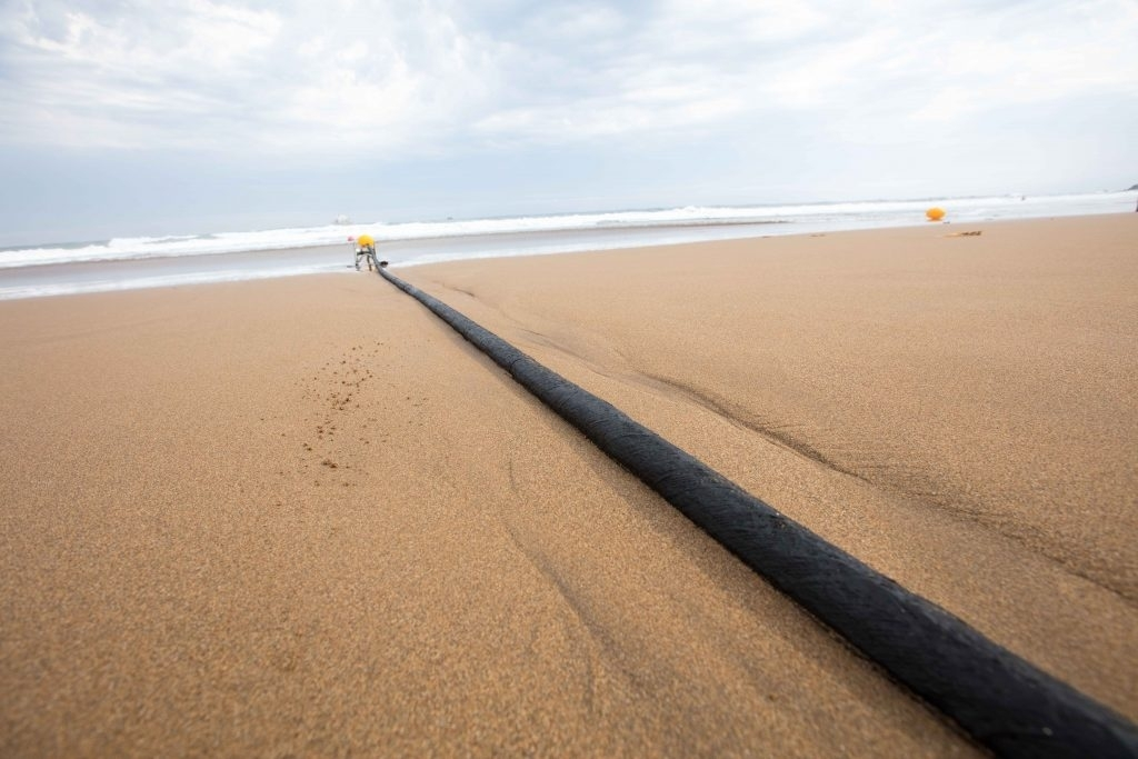 Microsoft Facebook undersea internet cable Marea