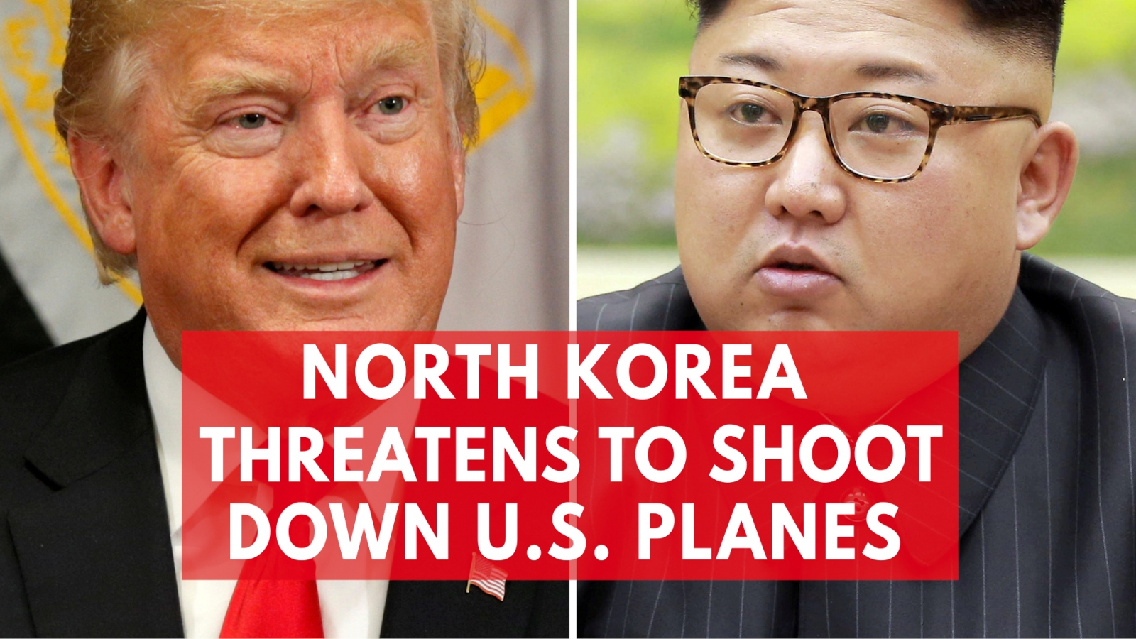 North Korea threatens to shoot down US plane