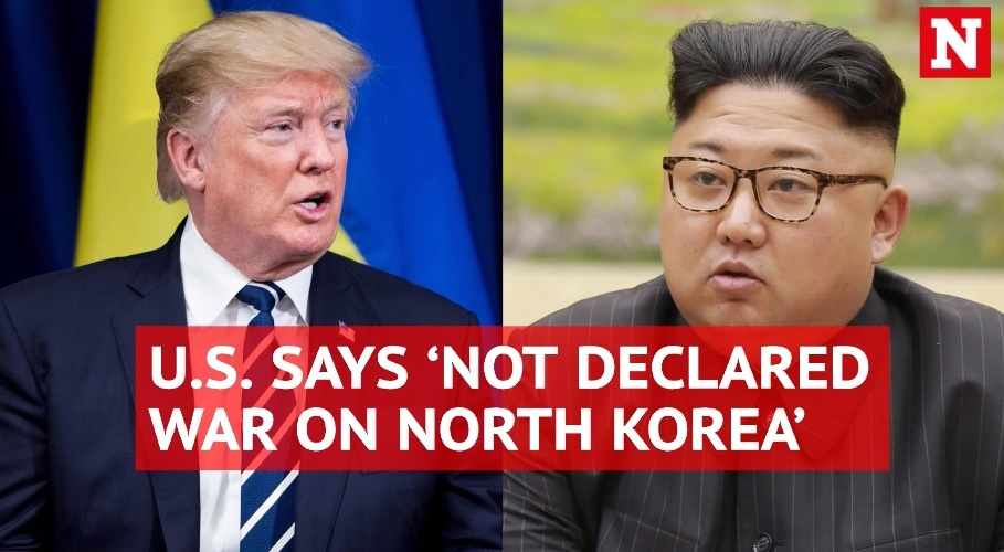 'We've not declared war on North Korea,' says White House