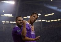 Carvajal and Ronaldo