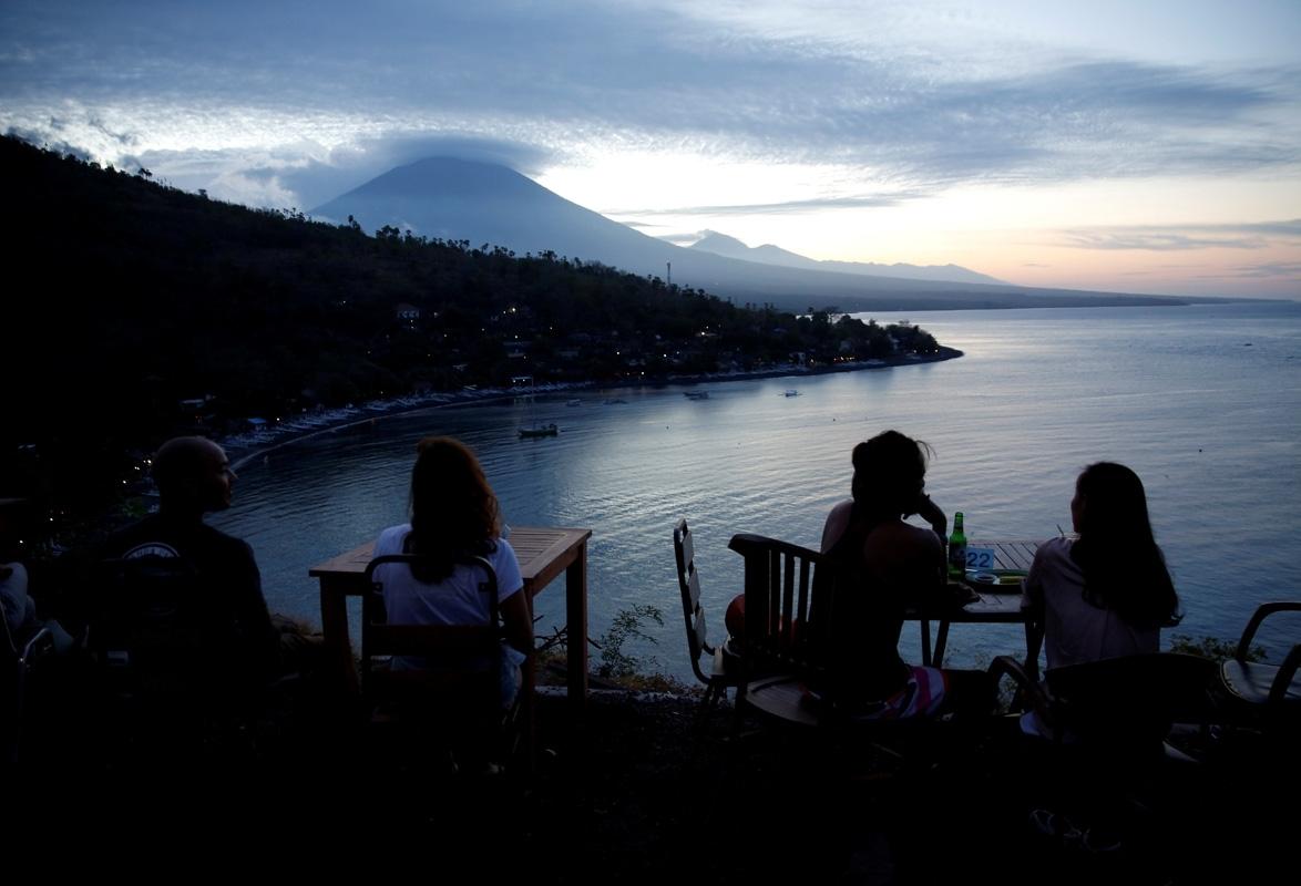 Bali volcano Mount Agung