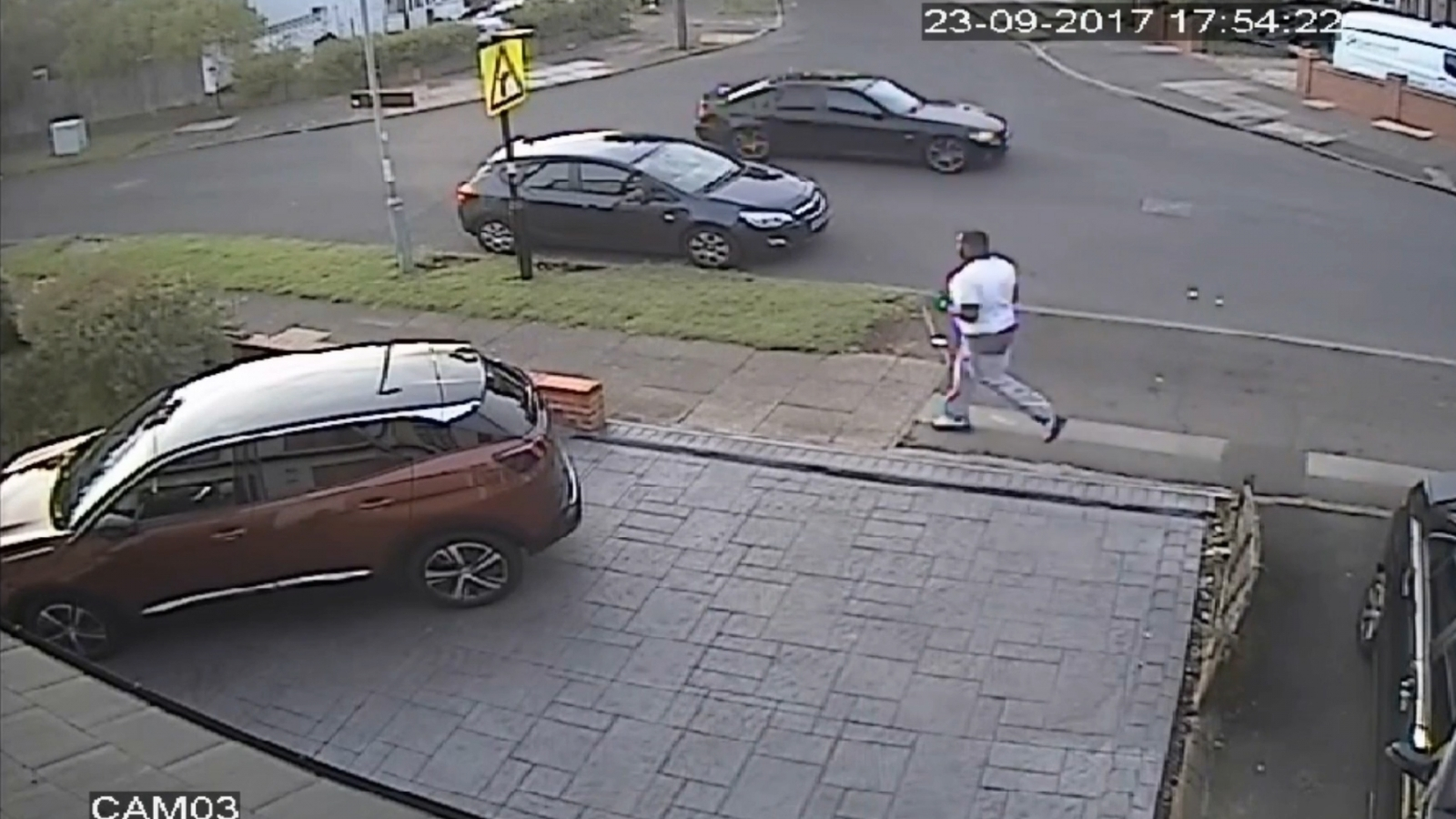 Hit And Run Driver Collides With Mother And Pram