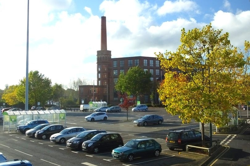 Aada supermarket in Ashton-under-Lyne, Greater Manchester