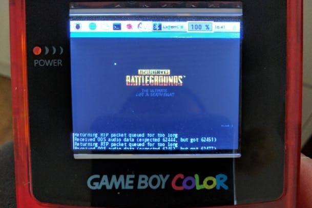 PUBG Game Boy