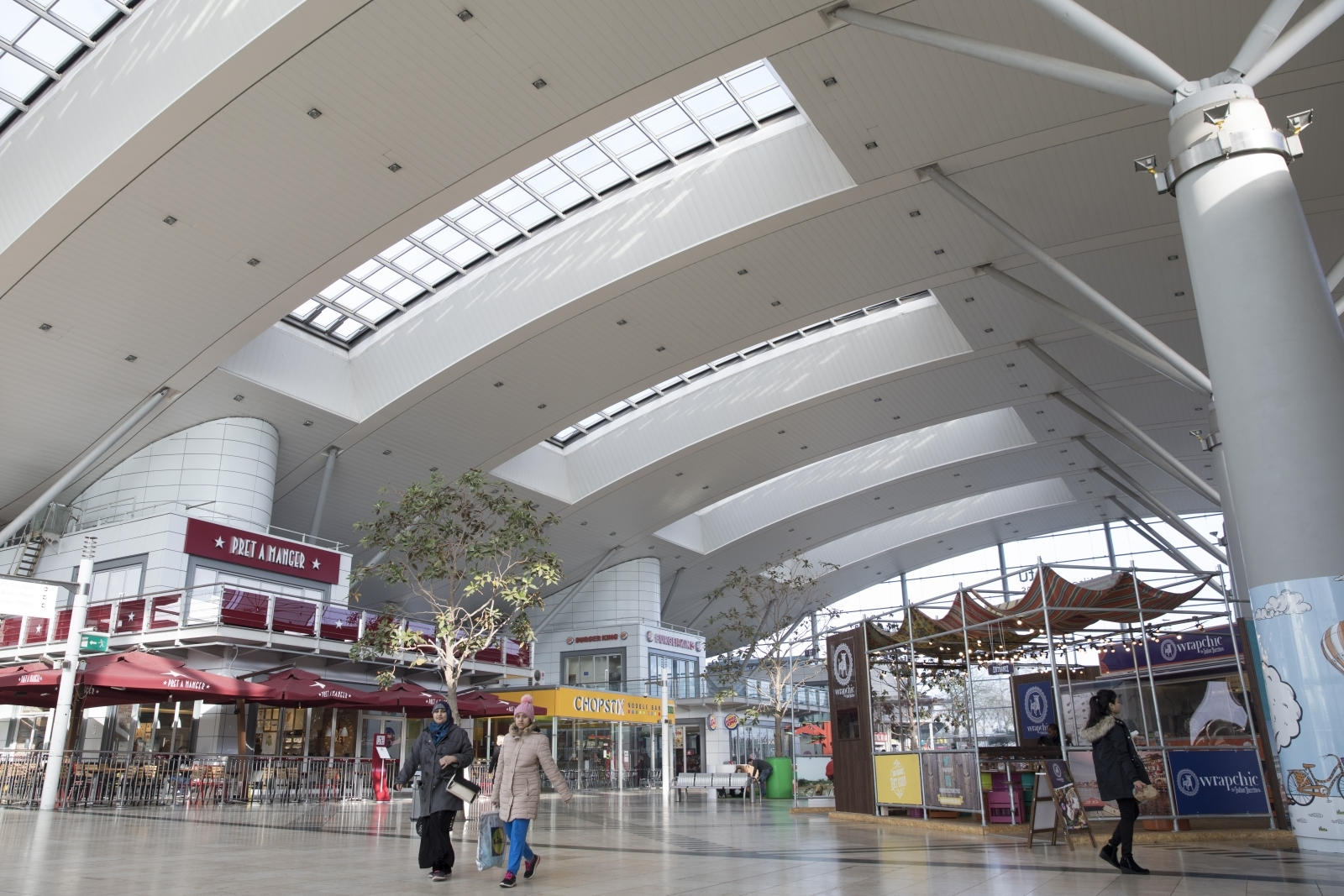 Milton Keynes intu shopping centre