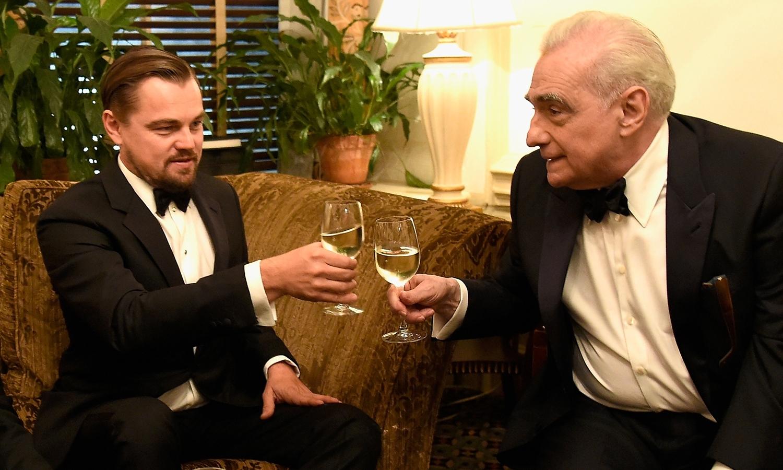 Leonardo DiCaprio Martin Scorsese