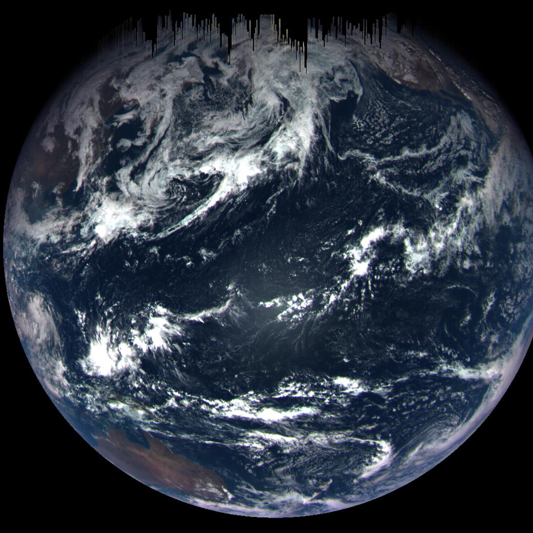 Nasa Osiris-Rex captures new image of Earth