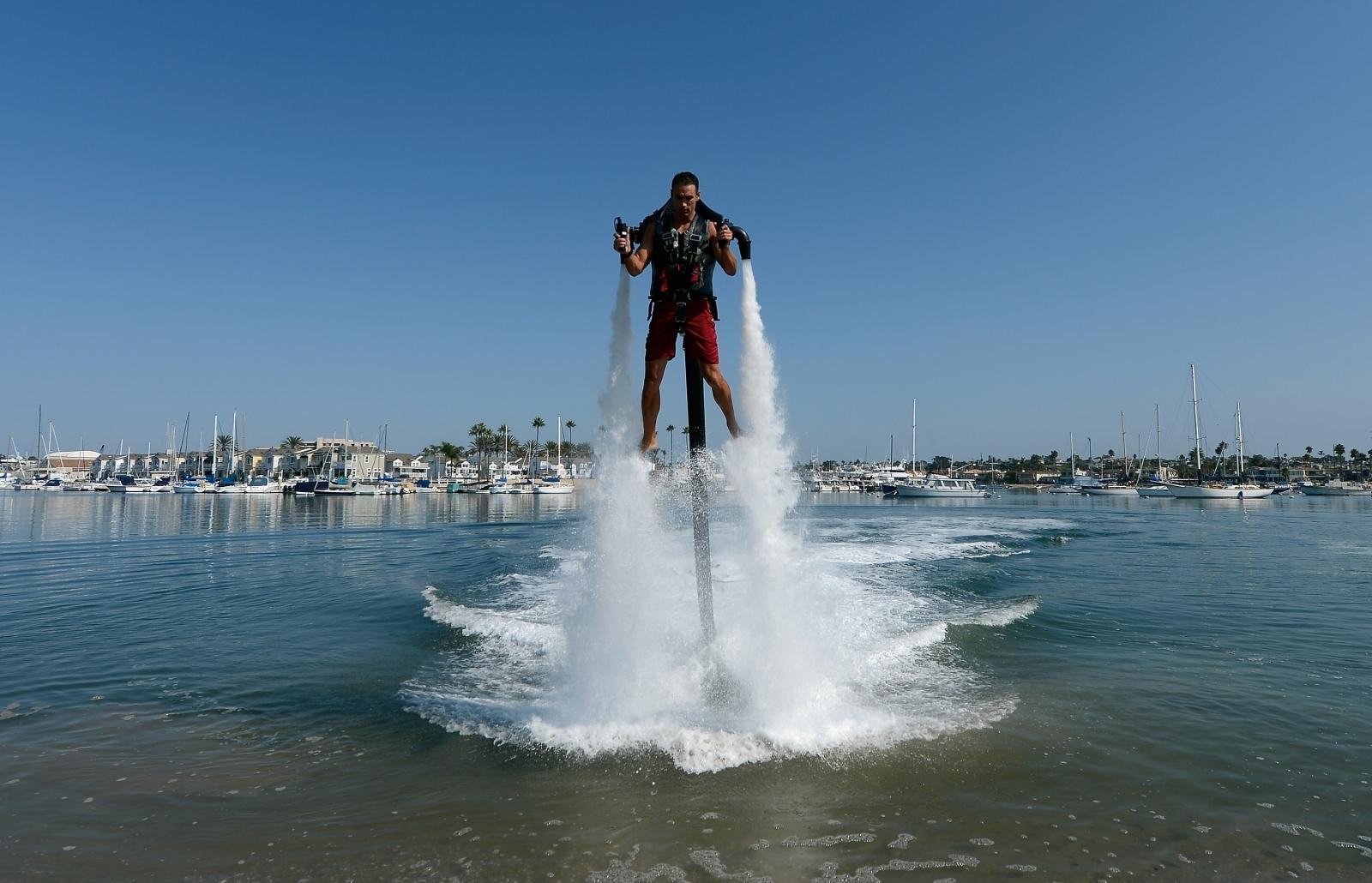 water powered jetpack
