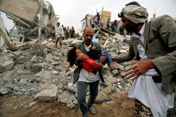 air strike Sanaa Yemen
