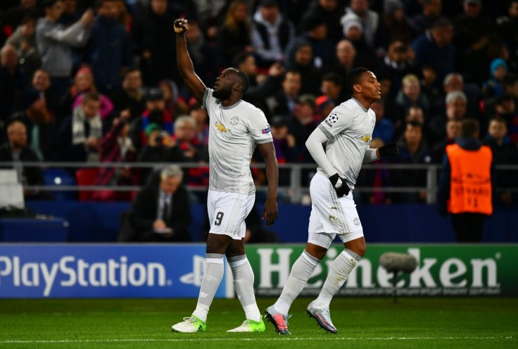 Romelu Lukaku-Anthony Martial