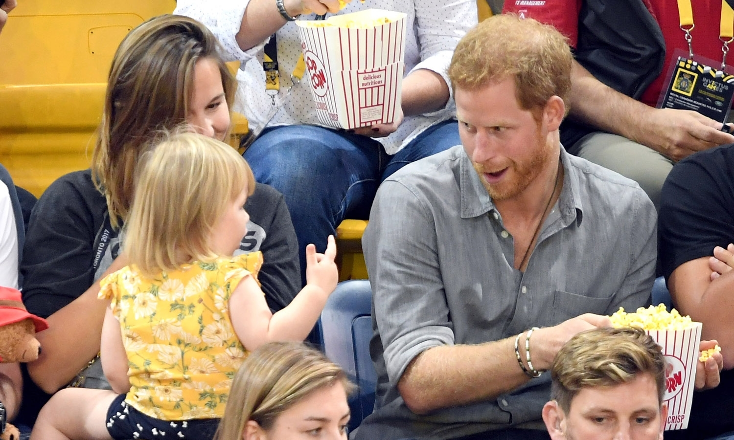 Watch Prince Harry wows crowds with his adorable' singing voice as he attends musical with wife Meghan video
