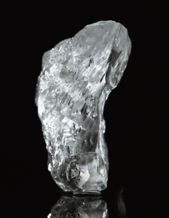 Rough white diamond