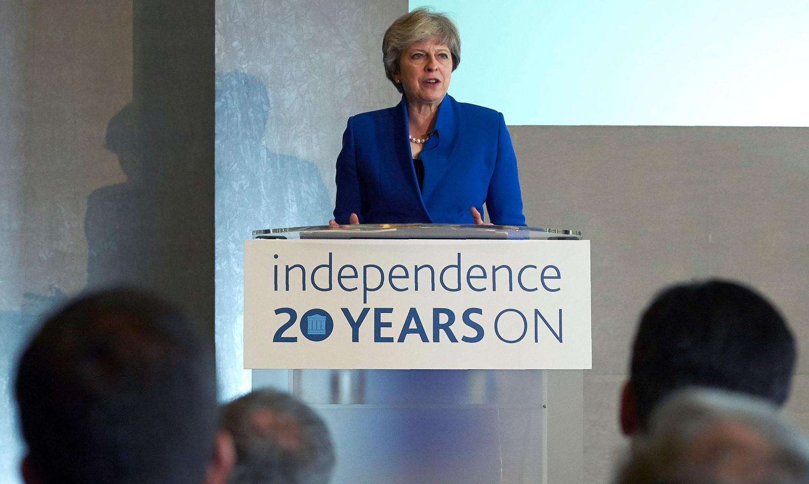 Theresa May Bank of England