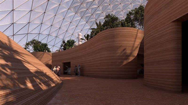 Mars science city