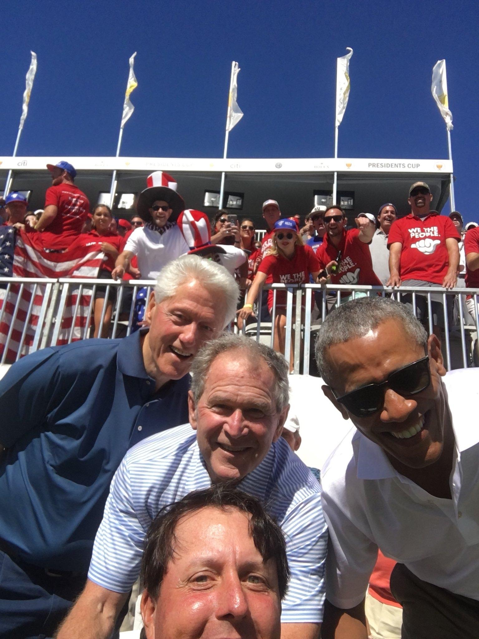 presidents selfie